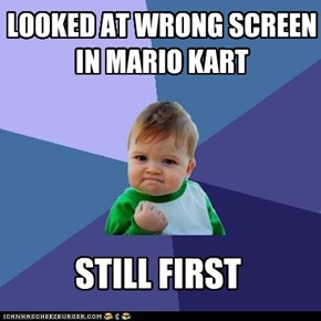 Success Kid: On Rainbow Road, Even!