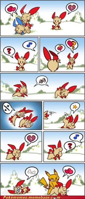 It's Hard Being a Plusle