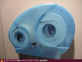 Watching You Pee Makes Kitty Sad
