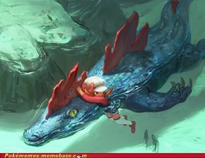 Feraligatr uses surf ...