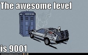 The awesome level  is 9001