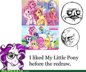 Hipster Pony; I miss the old stuff!