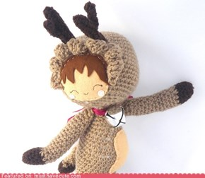 Amigurumi Reindeer Girl