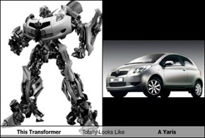 This Transformer Totally Looks Like A Yaris