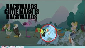 Backwards Cutie Mark is Backwards