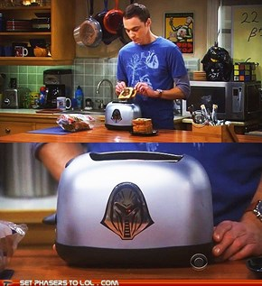 Need a toaster? Why not a Cylon toaster?