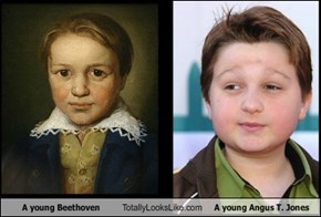 A young Beethoven Totally Looks Like A young Angus T. Jones