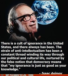 Isaac Asimov is My Hero