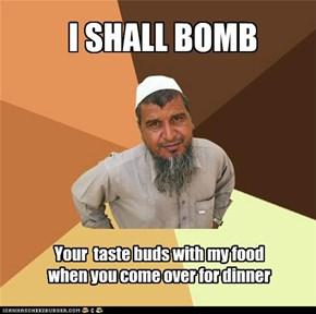 I SHALL BOMB
