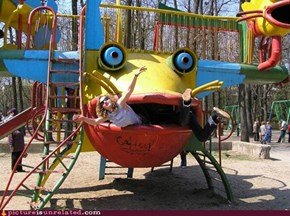 Honey, the Playground Ate the Children