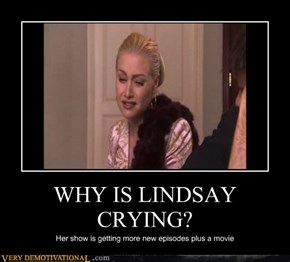 WHY IS LINDSAY CRYING?