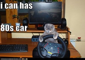 i can has 80s car