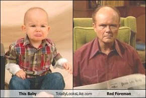 This Baby Totally Looks Like Red Foreman