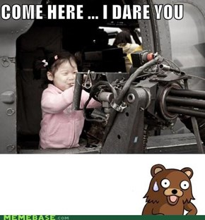Scared Pedo Bear...