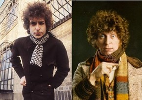 Bob Dylan Totally Looks Like Doctor Who (Tom Baker)
