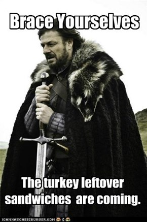 Eddard Stark: With Cranberry Sauce