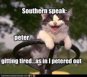 Southern speak: