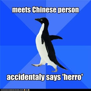 meets Chinese person