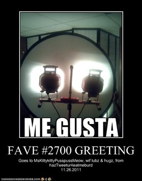 FAVE #2700 GREETING