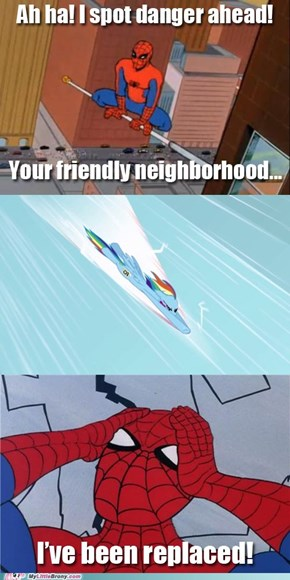 Friendly Neighborhood Rainbow Dash