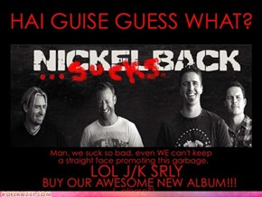 Nickelback's next Rolling Stone cover! (reimagined...)