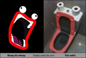 Shoop Da Whoop Totally Looks Like This Toilet