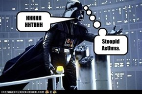 Why Darth Vader Breathes like that.
