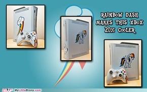 Rainbow Dash Xbox
