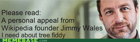 ...and that's when I noticed that Jimmy Wales had a tail
