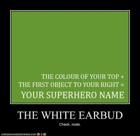 THE WHITE EARBUD