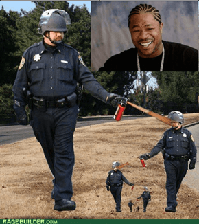 Yo Dawg, I heard you like pepper spray