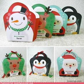 Cute Christmas Giftbags