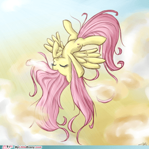 Fluttershy in the Sky