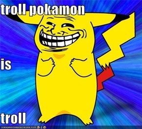 troll pokamon is troll
