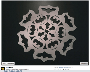 Batman Snowflake WIN