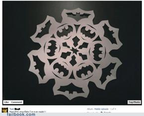 Batman Snowflake WIN