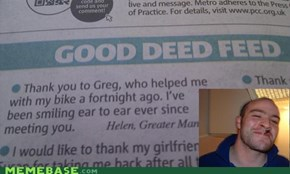 Good Guy Greg IRL