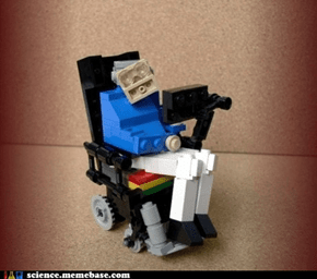 A Most Loving Recreation of Stephen Hawking