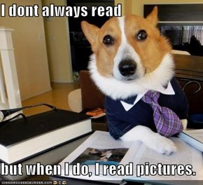 I dont always read