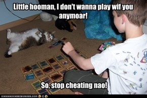Cheating boy