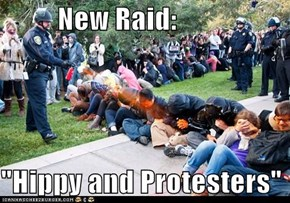 "New Raid:  ""Hippy and Protesters"""