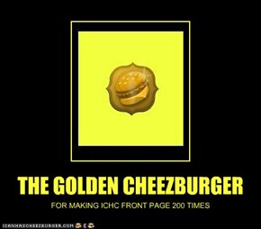 THE GOLDEN CHEEZBURGER
