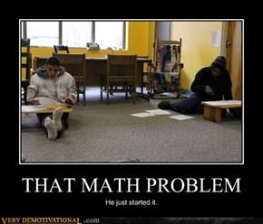 THAT MATH PROBLEM