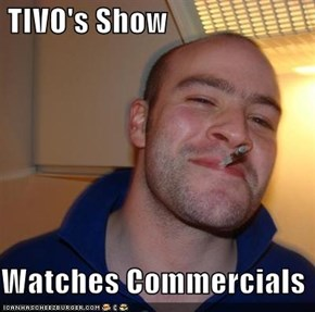 TIVO's Show  Watches Commercials