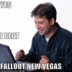 YES I BEAT FALLOUT NEW VEGAS