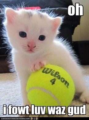 tennis kitteh