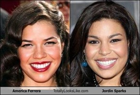 America Ferrera Totally Looks Like Jordin Sparks