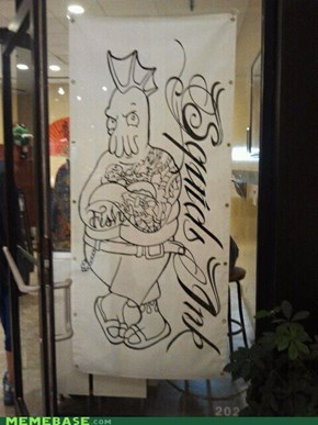 Need a New Tattoo Shop Mascot?