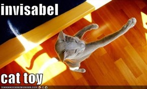 invisabel  cat toy
