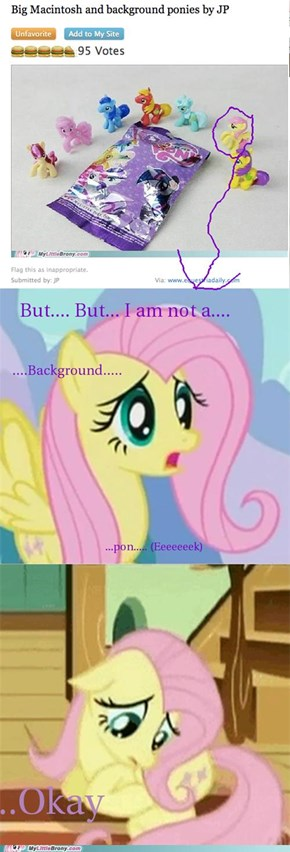 No Fluttershy he didn't mean it!